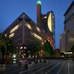 """Nocturne (découpe urbaine)"", 2011, light installation, Potsdamer Platz, Berlin"