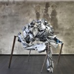 Francisco Berna, Untitled (free standing), 2013, mixed media, 95 x 90 x 90 cm
