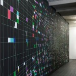 Viron Erol Vert, Untitled, 2013, wall paper, variable dimensions, unique