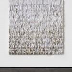 Anton Stoianov, Untitled, 2010-12, hand stitched socks on canvas, 240 x 240 cm