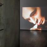 Christian Boltanski, L'homme qui lèche, 1969, 16 mm film video transfer, color, sound, 2 min 30